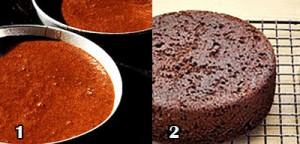 آموزش کیک موکا