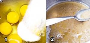 تهیه کیک عسل و  گردو