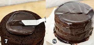 تزیین کیک موکا