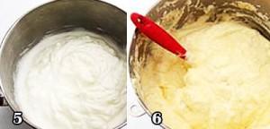 تهیه شیرینی رولت خامه ای