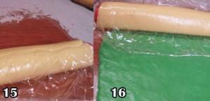 خمیر سبز بیسکویت