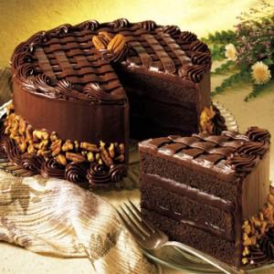 انواع کیک تولد شکلاتی