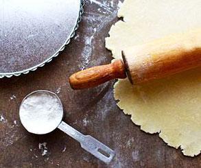 طرز تهیه خمیر مخصوص پای