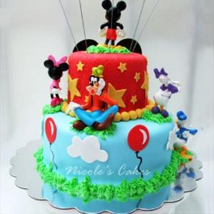 کیک تولد میکی ماوس