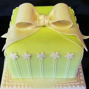 مدل کیک تولد پاپیونی