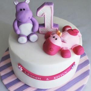 کیک تولد عروسکی دخترانه