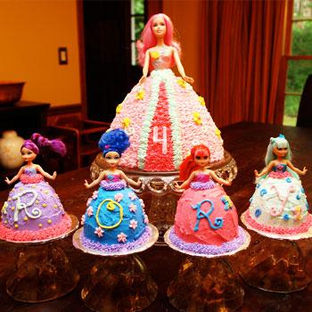 عکس کیک تولد بچگانه دخترانه