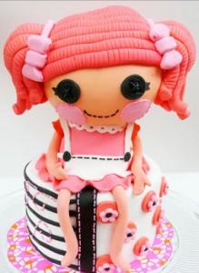 کیک تولد دختر