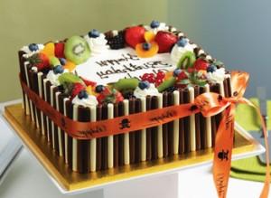 مدل کیک تولد میوه ای فانتزی