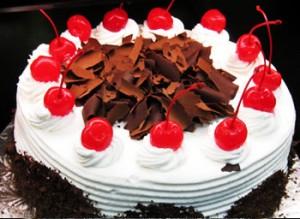 کیک تولد با میوه
