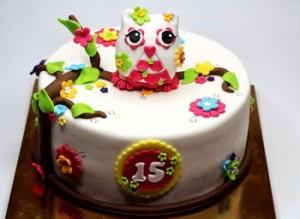 کیک تولد زیبا دخترانه