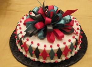 کیک تولد زیبا فانتزی