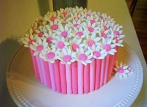 عکس کیک تولد گرد
