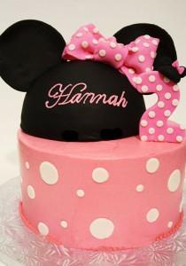 کیک تولدشکلاتی دخترانه