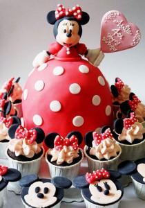 کیک تولدفانتزی جدیددخترانه