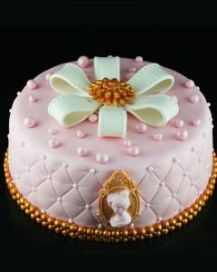 کیک دخترانه زیبا
