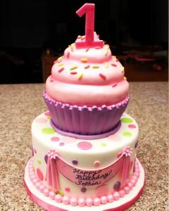 کیک تولددخترانه جدید