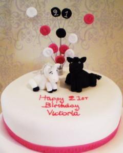 کیک تولد قشنگ
