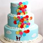 مدل کیک تولدگردبچگانه جدید