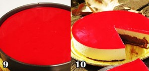 روکش ژله البالو برای چیز کیک