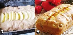 آموزش کیک سیب ودارچین