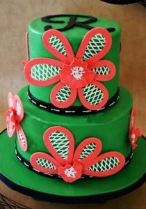 کیک تولد دخترانه زیبا و جدید