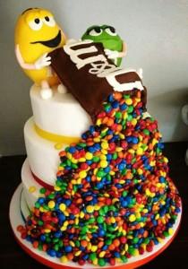 کیک تولد فانتزی پسرانه