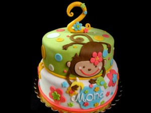 کیک تولد پسرانه زیبا