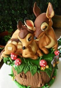 کیک تولدفانتزی مدل آهو