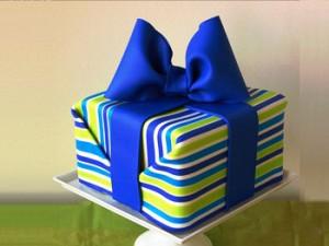 کیک تولد کودکانه فانتزی