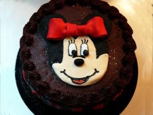 کیک تولدشکلاتی میکی موس