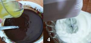 اموزش کیک شکلاتی با گاناش