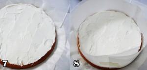اموزش تزیین کیک اسفنجی
