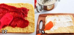 تزیین کیک تولد با توت فرنگی