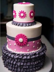 مدل کیک تولددخترانه