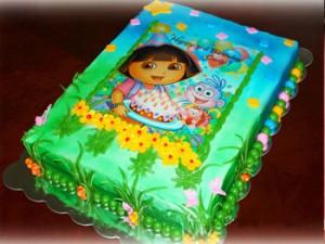 طرزتهیه کیک تولدبچه گانه زیبا