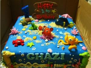 کیک تولدپسرانه فانتزی