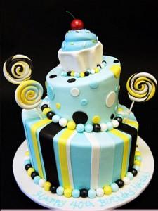 کیک تولددخترانه فانتزی