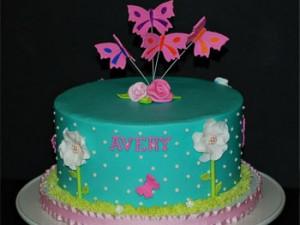 کیک تولدبچه گانه دخترانه