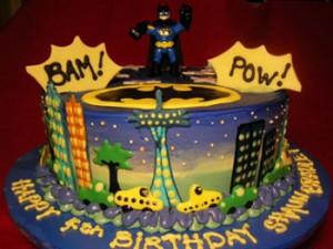 کیک تولد گرد بت من