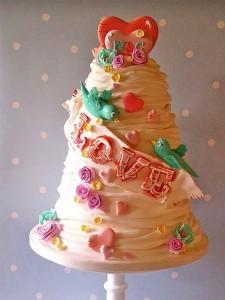 کیک تولددخترانه
