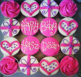 مدل کاپ کیک تولددخترانه