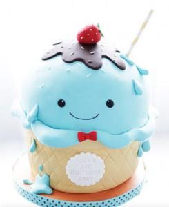 کیک تولدجدیدزیبا