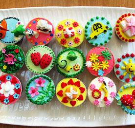 کاپ کیک تولدفانتزی