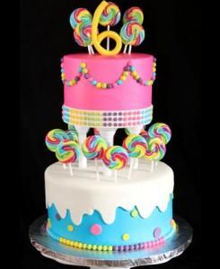 کیک تولدجدیدچندطبقه