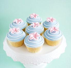 تزیین کاپ کیک تولدزیبا