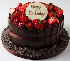 کیک شکلاتی زیبا