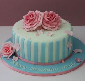 کیک تولد گرد