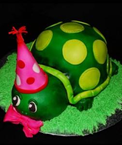 کیک تولدمدل لاک پشت