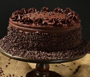 کیک تولد شکلاتی